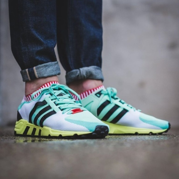 outlet store c9957 26302 Adidas EQT Support 93 RF PK Primeknit Running Shoe Boutique